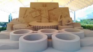 砂の美術館⑩