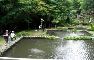 釣り堀(北近畿広域観光連盟HPより)